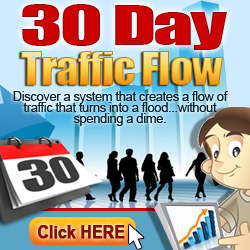 30 days traffic flow